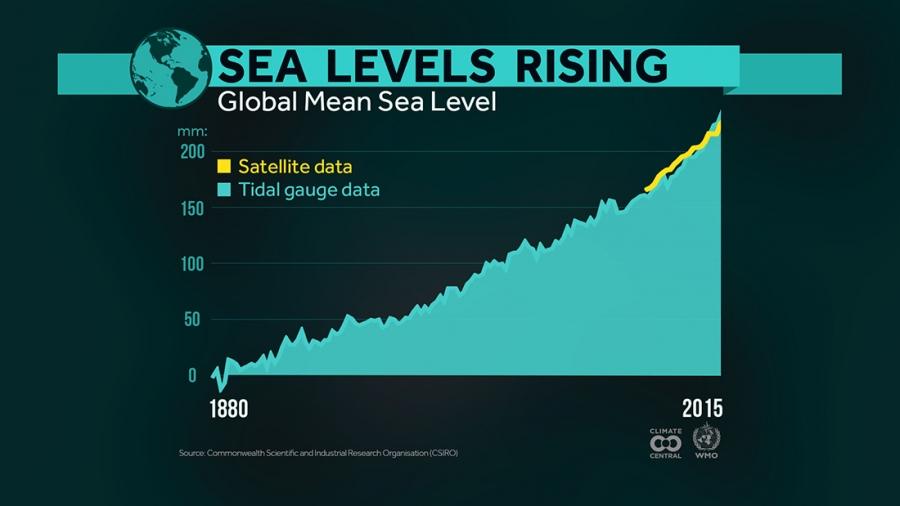 Global Sea Levels Rising