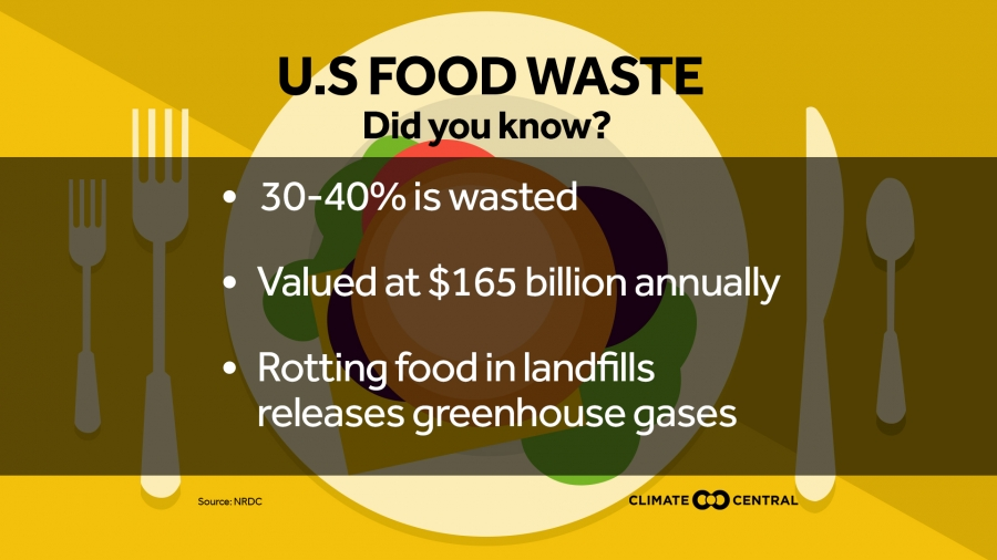 Food Waste, Methane and Climate Change