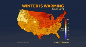 Here's Where Winters Are Warming the Most