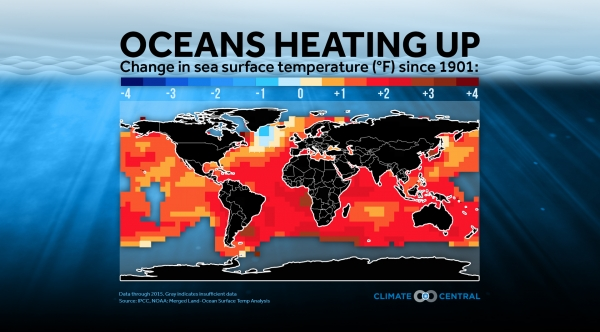 Oceans Are Heating Up