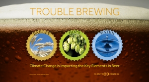 There's Trouble Brewing For Beer in a Warming World