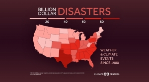 States With the Most Billion-Dollar Disasters