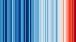 2019-Warming Stripes: How Temperatures Have Trended in Your Region