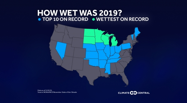 State comparison: How wet was 2019?