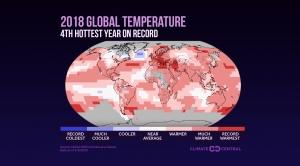 2018 Global Temp Review: Land & Ocean