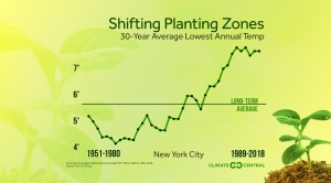 Warming Annual Lows Are Affecting Planting Conditions