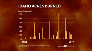 More Acres Burned in Large Western Wildfires