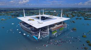 2020 Super Bowl: Sea Level Rise Flood Risk