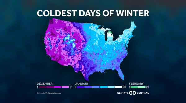 Winter's Coldest Time