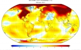 Global Heat Continues With Second-Hottest February