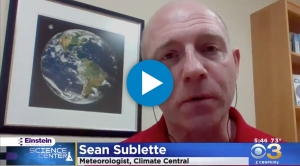 Sublette on Arctic Sea Ice Maximum Extent
