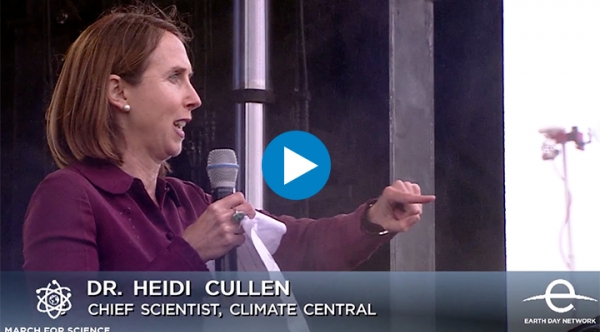 Heidi Cullen Speaks at March for Science