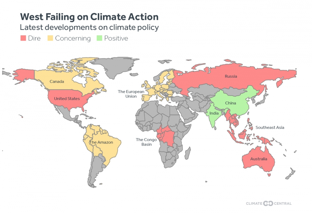 China, India Become Climate Leaders as West Falters | Climate Central