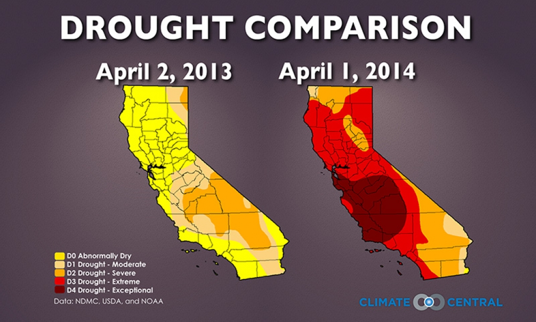 Why California's Drought Isn't Going Anywhere | Climate Central on