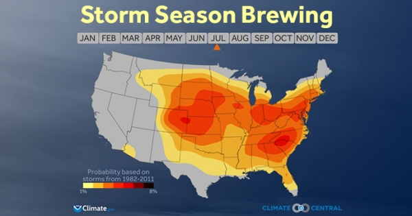 What Severe Weather Season Looks Like in 8 Seconds ...