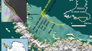 The Larsen C Iceberg Is on the Brink of Breaking Off