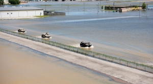 The Overlooked Risk of Levees As Rainfall Rises