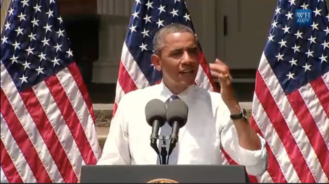 Transcript of Obama's Speech on Climate Change   Climate Central