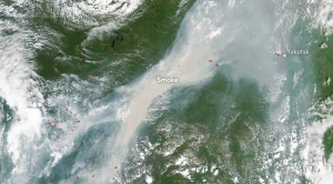 These NASA Images Show Siberia Burning Up
