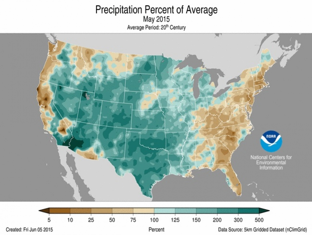 Rainy May Sets Record for Soggy U.S. | Climate Central