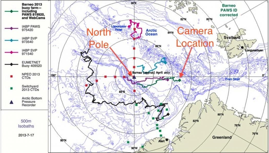South polar region (Antarctica)