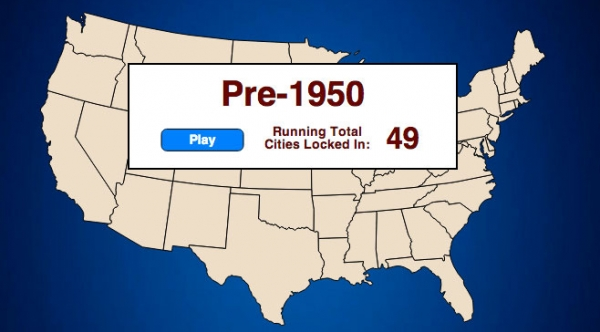 150 Years in 30 Seconds: Sea Level Debt Sinking U.S. Cities
