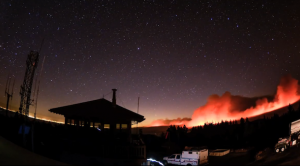 Gripping Time-Lapse of Destructive Yosemite Wildfire