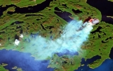 There's a Wildfire Burning in West Greenland Right Now