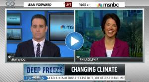 Bernadette Woods-Placky on MSNBC's Lean Forward