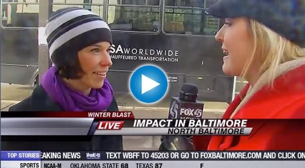 Bernadette on Baltimore Blast
