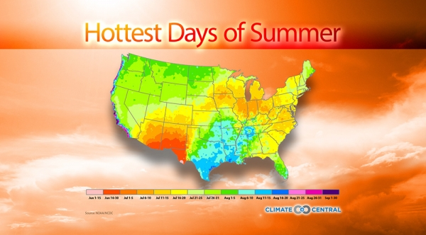 Hottest Days of Summer
