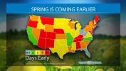 Spring is Coming Earlier