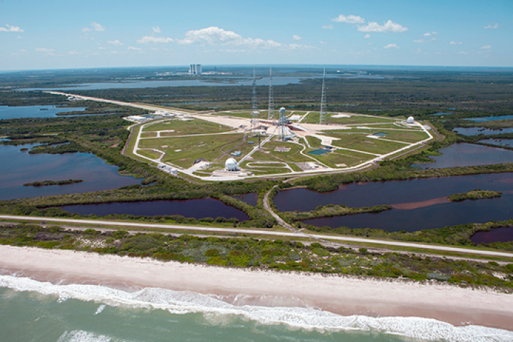 Could Kennedy Space Center launch pads be at risk as climate changes?