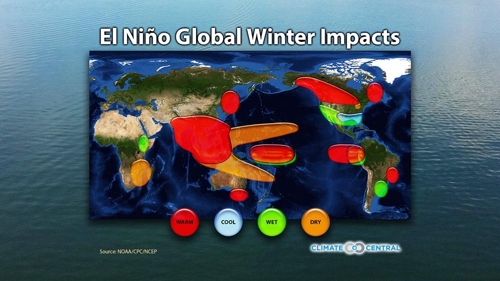 El Niño's Winter Impacts