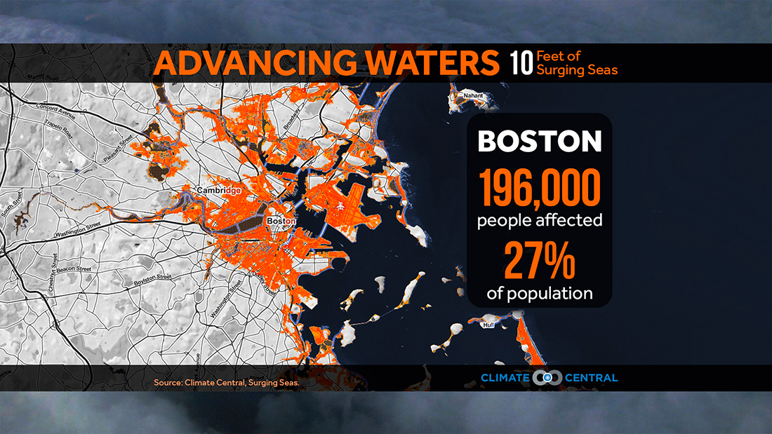 Storm Surge and Sea Level Rise: Cities at Risk