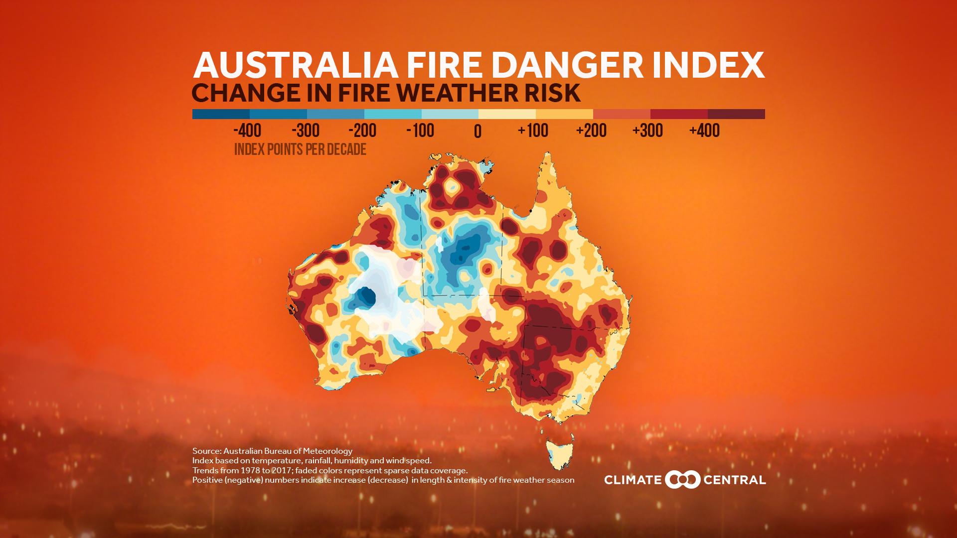 Australia Fire Danger Index