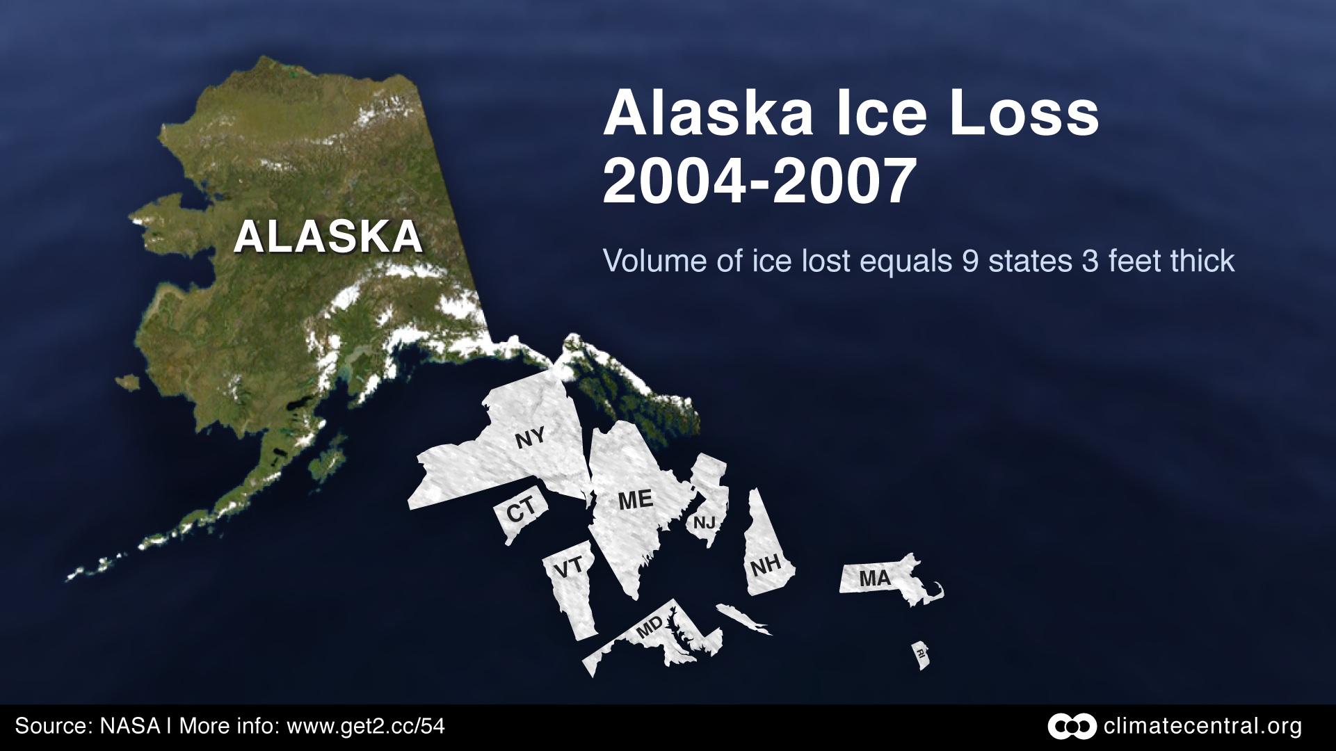 Alaska Total Ice Loss 2004-07