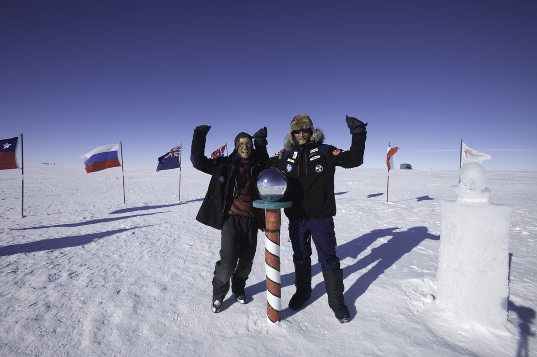 A Two-Man Trek Across Antarctica