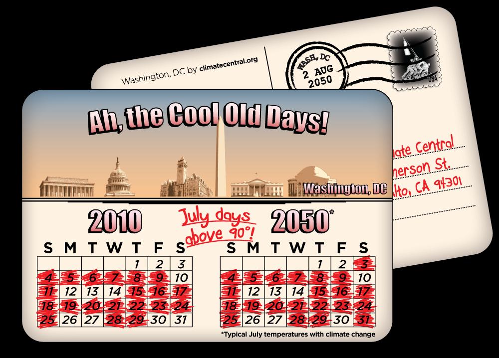 Washington, DC: July Days Over 90 Degrees