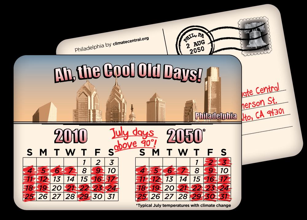 Philadelphia: July Days Over 90 Degrees
